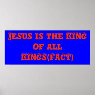 PASEN IS ALLEN OVER JESUS POSTER