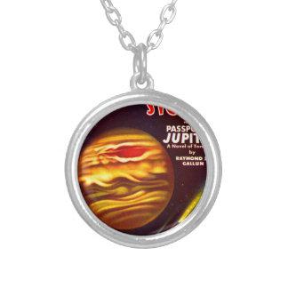 Paspoort aan Jupiter Zilver Vergulden Ketting