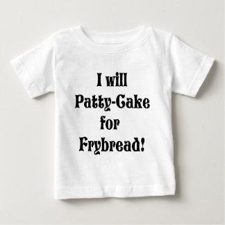 Pasteitje-cake voor frybread baby t shirts