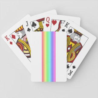 Pastelkleur Gemengde Regenboog - het Spectrum van Speelkaarten