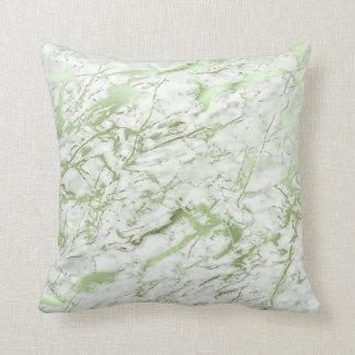 Pastelkleur van het Groen van de abstracte Munt de Sierkussen