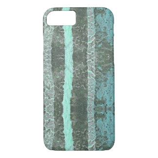Pastelkleur, Waterverf, de Strepen van de Verf iPhone 7 Hoesje
