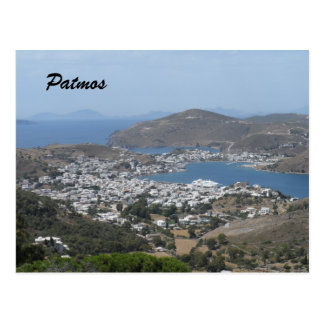 Patmos, Griekenland Briefkaart
