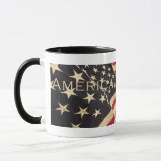 """Patriottisch """"Amerika"""" de Mok van de Koffie """""""