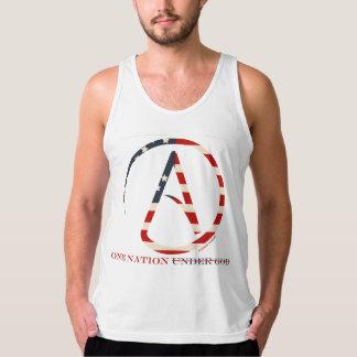 Patriottisch Overhemd Één van de Atheïst Natie T Shirt