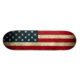 Patriottisch Skateboard die de Amerikaanse Vlag ke