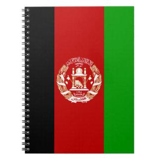 Patriottische Afghaanse Vlag Ringband Notitieboek