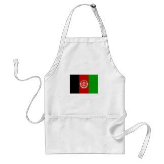 Patriottische Afghaanse Vlag Standaard Schort