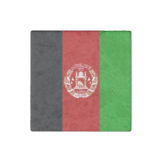 Patriottische Afghaanse Vlag Stenen Magneet