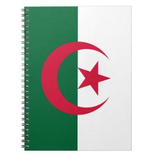 Patriottische Algerijnse Vlag Ringband Notitieboek