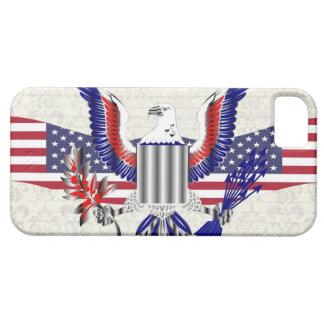 Patriottische Amerikaanse adelaar Barely There iPhone 5 Hoesje