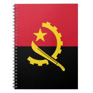 Patriottische Angolese Vlag Ringband Notitieboek