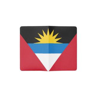 Patriottische Antigua en de Vlag van Barbuda Pocket Moleskine Notitieboekje