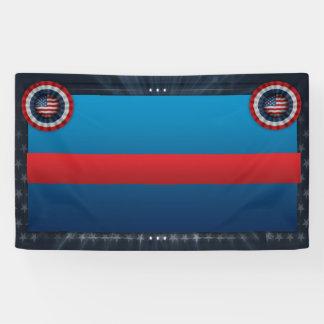 Patriottische Banner