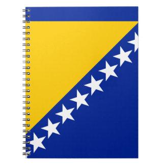 Patriottische Bosnia - van Herzegovina Vlag Ringband Notitieboek