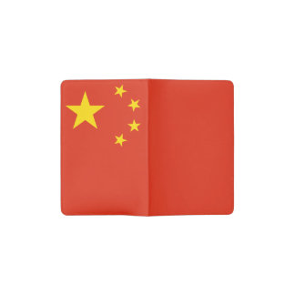 Patriottische Chinese Vlag Pocket Moleskine Notitieboekje