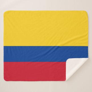 Patriottische Deken Sherpa met de vlag van