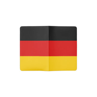 Patriottische Duitse Vlag Pocket Moleskine Notitieboekje
