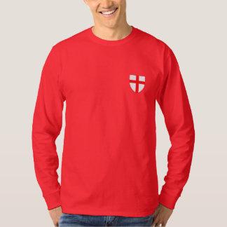 Patriottische Engelse vlag T Shirts