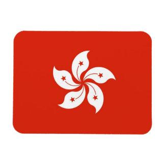 Patriottische flexibele magneet met vlag van Hong