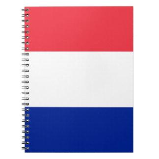 Patriottische Franse Vlag Notitieboek
