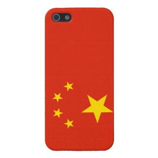 Patriottische Gele iPhone van China van de Vlag va iPhone 5 Case
