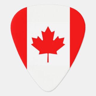 Patriottische gitaaroogst met Vlag van Canada Gitaar Plectrum