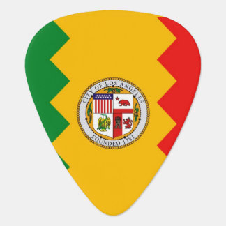 Patriottische gitaaroogst met Vlag van Los Angeles Gitaar Plectrums 0
