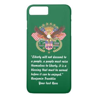 Patriottische iPhone 7 van Forest Green van de iPhone 8/7 Plus Hoesje