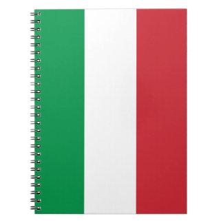 Patriottische Italiaanse Vlag Notitieboek