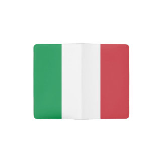 Patriottische Italiaanse Vlag Pocket Moleskine Notitieboekje