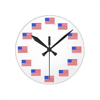 Patriottische Klokken van de Vlag van de V.S. de