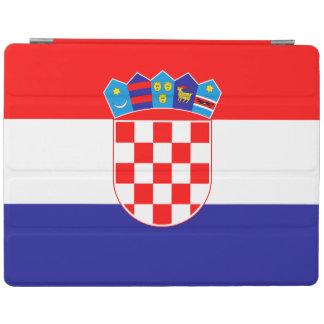 Patriottische Kroatische Vlag iPad Cover