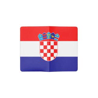 Patriottische Kroatische Vlag Pocket Moleskine Notitieboekje