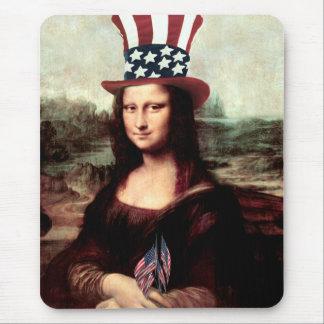 Patriottische Mona Lisa - Klaar voor de Dag van de Muismatten