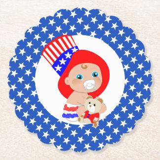 Patriottische Oom Sam American Baby Viltjes