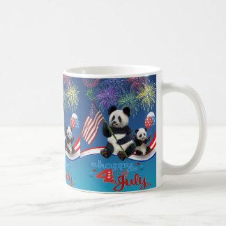 Patriottische Panda's Koffiemok