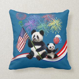 Patriottische Panda's Sierkussen