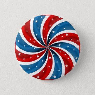Patriottische Pepermunt Ronde Button 5,7 Cm