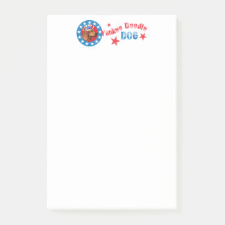 Patriottische Redbone Post-it® Notes