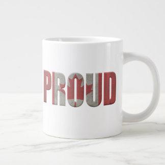 Patriottische Trotse Canadees Grote Koffiekop