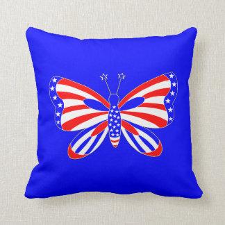 Patriottische Vlinder Sierkussen