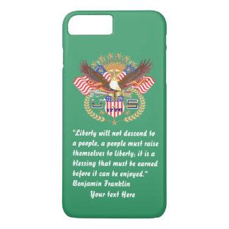 Patriottische Vrede Forest Green Kentucky iPhone 8/7 Plus Hoesje
