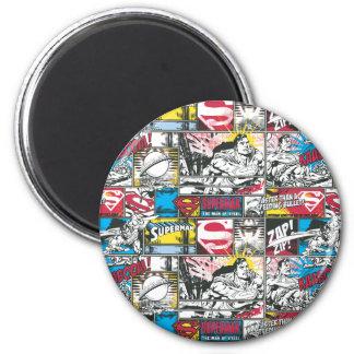 Patroon 2 van het Logo van de superman Magneten