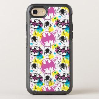 Patroon 3 van de Kleurencode van Batman OtterBox Symmetry iPhone 8/7 Hoesje