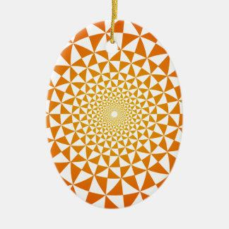 Patroon Keramisch Ovaal Ornament