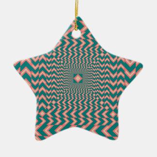 Patroon Keramisch Ster Ornament