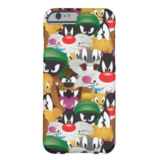Patroon LOONEY TUNES™ Emoji Barely There iPhone 6 Hoesje