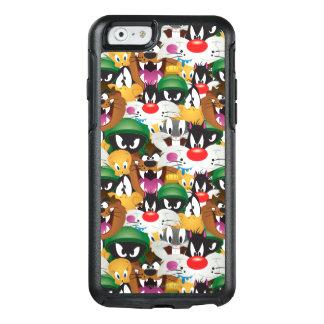 Patroon LOONEY TUNES™ Emoji OtterBox iPhone 6/6s Hoesje