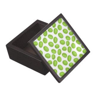 Patroon met groene olijven premium cadeau doosje